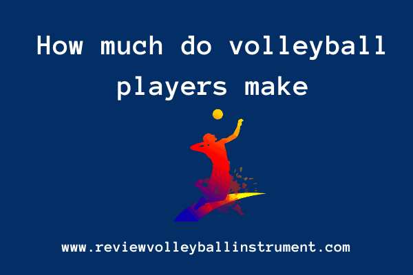 how much do volleyball players make