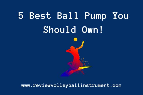 Best ball pump