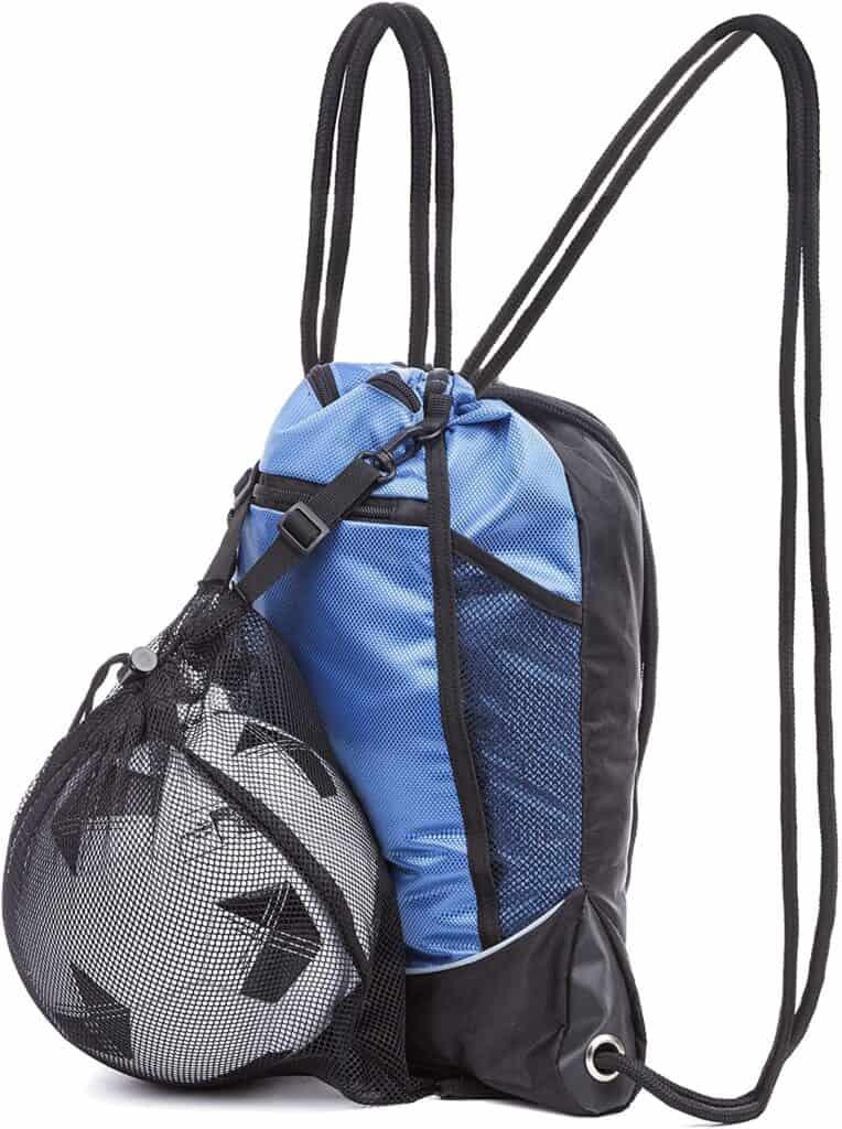 DashSport Drawstring Bag with Mesh Net